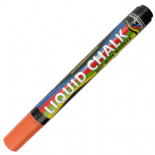Orange Rainbow chalk 5mm Chisel Nib Liquid Chalk Marker